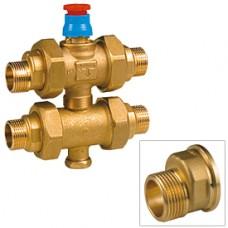 """Трехходовой вентильный зональный клапан с эксцентриками 3/4"""" Giacomini R292E R292EY004"""