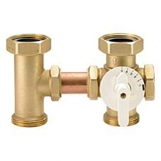 """Трехходовой смесительный клапан с поворотным затвором 1 1/2"""" Giacomini R296 R296Y001"""