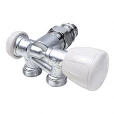 """Микрометрический термостатический узел для однотрубных систем правый 1/2"""" x18 Giacomini R357M1 R357MX062"""