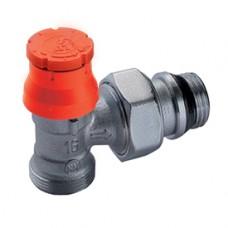 """Угловой термостатический клапан с нар. резьбой и преднастройкой  1/2"""" x 16 GIACOMINI R411PTG R411PX233"""