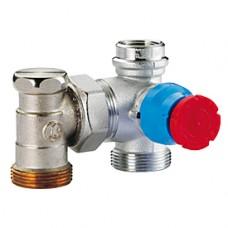 Термостатический клапан, с балансировочным клапаном 18x18 Giacomini R414D R414DX003