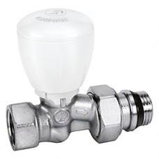 """Прямой микрометрический термостатический клапан для радиатора отопления 1/2"""" ** Giacomini R422TG R422X133"""