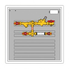 "Стандартный квартирный узел 3/4"" Dim.600 x 600 x 110 мм Giacomini GE555 GE555Y462"