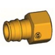 """Прямой фитинг с внутренней резьбой для системы GX 16x1/2""""F GIACOMINI GX109Y033"""