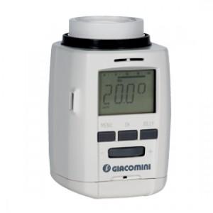 Термостатическая головка для радиатора отопления электронная 30x1,5 Giacomini K470H K470HX001