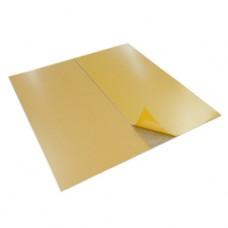 Лист из оцинкованной стали, с клеющим слоем 600 x 600 x 1 мм K805P-1 K805PY024