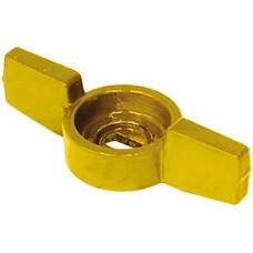 "Ручка-бабочка желтая 1/4"" Giacomini P31FG P31FGY001"