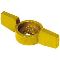 "Ручка-бабочка желтая 3/8""-1/2"" Giacomini P31FG P31FGY002"