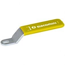 """Рычажная рукоятка желтая 1/4"""" Giacomini P31LG P31LGY001"""