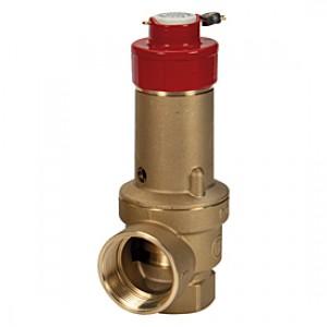"""Предохранительный клапан, сертифицированный INAIL 1 1/4""""  6 бар Giacomini R140D R140DY175"""