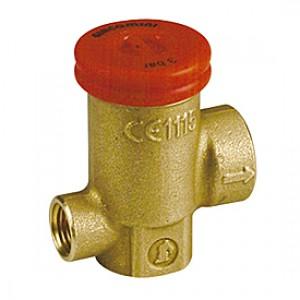 """Предохранительный клапан компактный с соед. с манометром 1/2""""x2,5 бар Giacomini R140R1 R140TY102"""