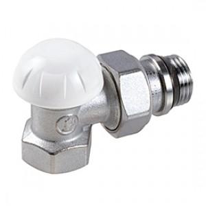 """Угловой отсечной клапан для радиатора отопления 3/8"""" Giacomini R14TG R14X032"""
