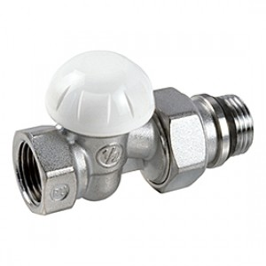 """Прямой отсечной клапан для радиатора отопления 1"""" * Giacomini R15TG R15X035"""