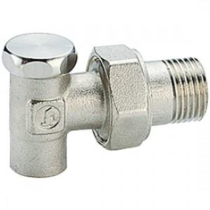 """Угловой отсечной клапан для радиатора отопления под пайку 1/2""""x15 Giacomini R16C2 R16CX003"""