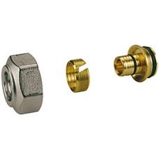 """Переходник для металлопластиковых и пластиковых труб 3/4""""x(17x2,0) Giacomini R179AM R179EX025"""
