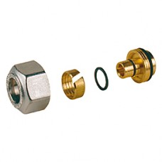 Переходник для металлопластиковых и пластиковых труб 18x(16x2) Giacomini R179AM R179MX024