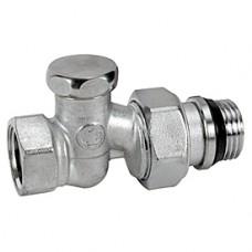 """Прямой отсечной клапан для радиатора отопления 1/2"""" Giacomini R17TG R17X033"""