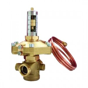 Автоматический балансировочный клапан - регулятор перепада давления DN20 Giacomini R206С R206CY004