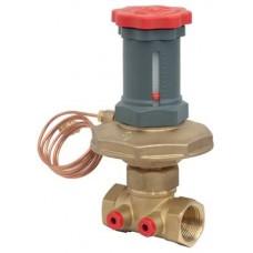 """Автоматический балансировочный клапан - регулятор перепада давления DN40 - 1""""1/2 GIACOMINI R206C-1 R206CY107"""