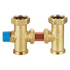 """Трехходовой смесительный клапан с вентильным затвором 3/4"""" R298 R298Y024"""