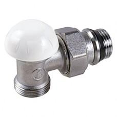 """Угловой отсечной клапан для радиатора отопления с нар. резьбой 1/2""""x3/4""""E Giacomini R29TG R29EX037"""