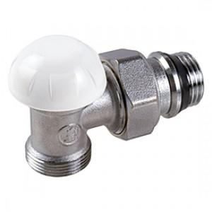 """Угловой отсечной клапан для радиатора отопления с нар. резьбой 3/8""""x16 Giacomini R29TG R29X032"""