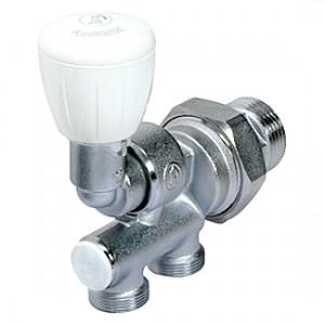 Микрометрический термостатический универсальный узел для одно-двухтрубных систем. 1 лев. х 18 Giacomini R304T R304TX018