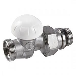"""Прямой отсечной клапан для радиатора отопления с нар. резьбой 1/2"""" x3/4""""E Giacomini R31TG R31EX037"""