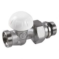 """Прямой отсечной клапан для радиатора отопления с нар. резьбой 3/8""""x16 Giacomini R31TG R31X032"""