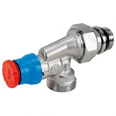 """Угловой  осевой термостатический клапан для радиатора отопления 1/2""""x18 Giacomini R415TG R415X043"""