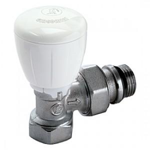 """Угловой микрометрический термостатический клапан для радиатора отопления 1"""" * Giacomini R421TG R421X035"""