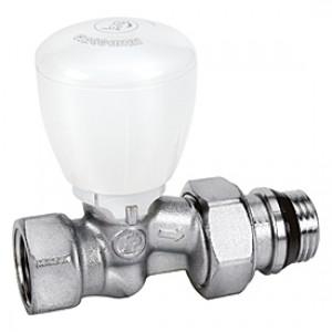 """Прямой микрометрический термостатический клапан для радиатора отопления 1"""" * Giacomini R422TG R422X035"""