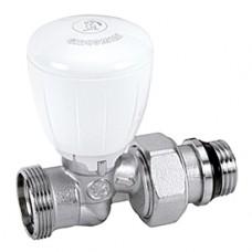 """Прямой микрометрический термостатический клапан для радиатора отопления с нар. резьбой 1/2""""x18 Giacomini R432TG R432X034"""