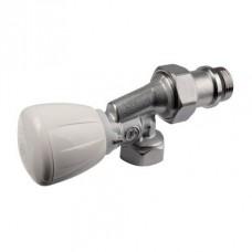 """Угловой осевой микрометрический термостатический клапан 1/2"""" x 1/2"""" Giacomini R435TG R435X053"""