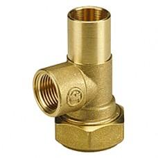 """Т-образный тройник с выводом для термометра 3/4"""" Ex18 Giacomini R531 R531Y004"""