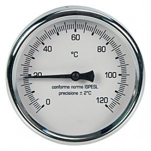 "Термометр, сертифицированный INAIL (ISPESL) 1/2"" Giacomini R540I R540IY002"