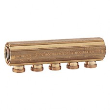 Коллектор с отводами с наружной резьбой 1x18 /2 Giacomini R551S R551SY022