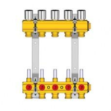 Комплект коллекторного узла для R557R-1 1X18 / 3 Giacomini R553K R553KY063