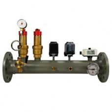 Коллектор, сертифицированный INAIL DN80 Giacomini R555 R555Y108