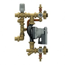 Смесительная группа с насосом для систем отопления и теплого пола с эл. регул. Giacomini R557R-1 R557RY042