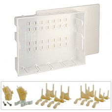 Пластиковая коробка с крышкой 370x300x90 Giacomini R595 R595AY001