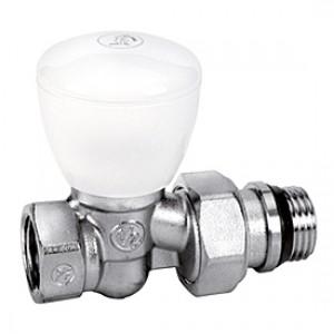 """Прямой ручной клапан для радиатора отопления 3/8"""" Giacomini R6TG R6X032"""