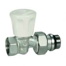 """Прямой ручной клапан для радиатора отопления компактный 1/2"""" Giacomini R706A R706X013"""