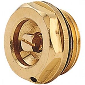 """Ручной воздухоотводный клапан латунный 1/2"""" Giacomini R91 R91X003"""