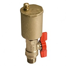 """Автоматический воздухоотводный клапан для солнечных систем 1/2"""" Giacomini R99S R99SY003"""