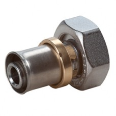 Прямой фитинг с накидной гайкой 18x(16x2) Giacomini RM179TR RM179X033