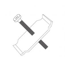 Крепеж для теплосчетчиков - распределителей 37мм крепеж,M3 болты x30 GE700-1 GE700Y104