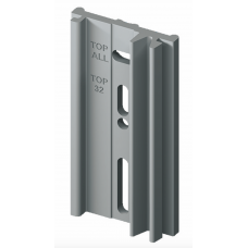 Крепеж для теплосчетчиков - распределителей пластина для GE700Y022 Giacomini GE700-1 GE700Y120